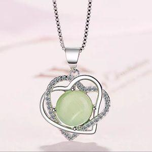 ❤️ Double Heart Women's Necklace 10200